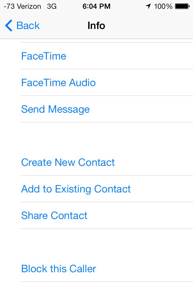 Bad UI: Contact management